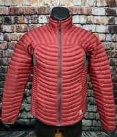 Eddie Bauer Womens Microtherm Down Shirt Jacket First Ascent 800FP Winter Small