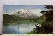 Washington WA Mt St Helens Spirit Lake Postcard Old Vintage Card View Standard