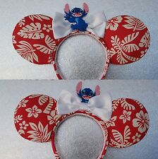 Lilo and Stitch Inspired mouse ears by PrincessandPetticoat