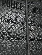 PHOTO VINTAGE : ROBERT DOISNEAU POLICE JUDICIAIRE 36 QUAI DES ORFEVRES 1960 - 01