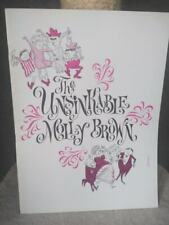 The Unsinkable Molly Brown tour program - autographed by Tammy Grimes