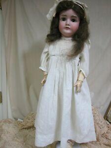 "Antique German Doll Kestner 164  Bisque Head Doll  Composition Body 30"""