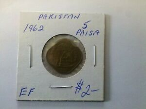 Pakistan 1962 5 Paisa