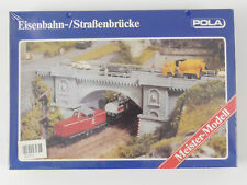 Pola N 370 Railway Road Bridge Steinbogen Kit New Foil Boxed 1607-05-05