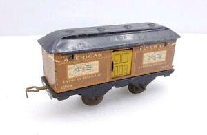 Rare American Flyer Prewar 1204 Baggage Car Tinplate O Scale
