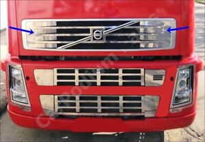 Volvo FH / FM Chrome Front Grill 2 pieces Stainless STEEL 2001+