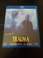 Trauma bluray UNCUT Dario Argento OOP RARE