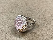 QVC EA Affinity Moonstone Sterling Silver 925 Ring Size 10