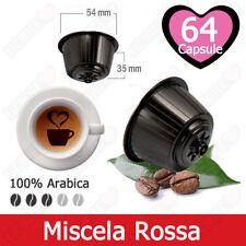 64 Capsule Caffè Tre Venezie Arabica di San Marco Comptibili Nescafè Dolce Gusto