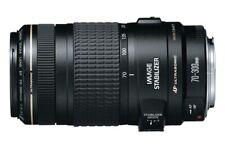 Canon EF 70-300mm f/4-5.6 AF IS USM Lens w filter, case