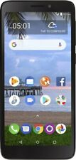 "Simple Mobile TCL A1 (A501 DL) 5"" 4G LTE Prepaid Smartphone (Black)"