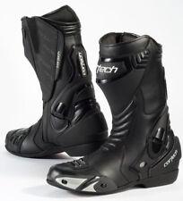 Cortech Latigo WP Road Race Motorcycle Boots / Black - Size 11