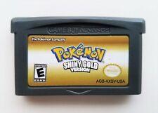 Pokemon Shiny Gold - GBA Game Boy Advance -Remastered Fan Made Hack (USA Seller)