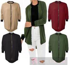 Cappotti e giacche da donna casual poliestere cerniera