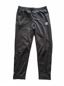 Umbro Pants Men's Sports Training Tricot Pants - Black - New