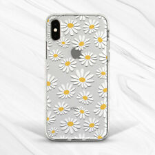 Daisy Flower Chamomile Nature Clear Girly Case For iPhone 6 7 8 Xs XR 11 Pro SE