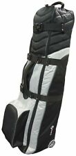 Asbri Golf Tech Deluxe Travel Cover and Flight Bag - Black/Silver