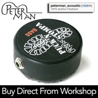 Peterman PUCK 'N STOMPA - BASS - professional stomp box - stompbox