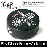 Peterman PUCK 'N STOMPA - BASS - professional stomp box - stompbox