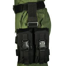 AU Drop Leg 4x AR15/M4 Rifle Magazine Pouch Thigh Rig Holster