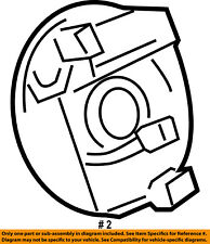 5156106AG, CHRYSLER OEM Airbag Air Bag-Clockspring Clock Spring