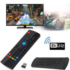 2.4GHz MX3 Fly Air Mouse Wireless Keyboard Qwerty Remote Controller With Mic