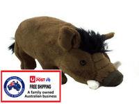 PLUSH WARTHOG 18CM pig boar teddy toy stuffed animal Lion King birthday gift