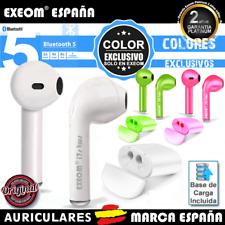 Auriculares Inalambricos Cascos Bluetooth 5.0 Base de Carga Original IOS Android