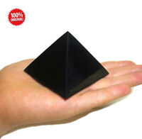 Shungite Schungit Polished Pyramid 60mm elite crystal minerals labradorite