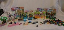 LEGO Friends 41033 41027 41036 Building sets with Books Not Complete