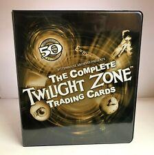 Twilight Zone Complete 50th Anniversary - Trading Card Binder Album w/ Promo P3