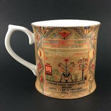 Jewish Museum Mug Cup Reichek Sampler Tannenbaum Quote 12oz New York Judaica