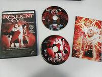 RESIDENT EVIL 2 X DVD EDICION LIMITADA ESPAÑOL ENGLISH MILLA JOVOVICH