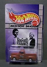 """Custom HotWheels FORD F-1 and package of  """"Movie Metal""""  from  SANFORD AND SON"""