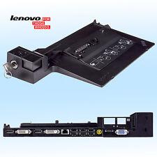 Original Lenovo Dockingstation Type 4338 + 2 Schlüssel für X220 L412 L512 W510