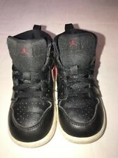 Nike Air Jordan Retro l #705304-012 Black Toddler Shoes Size 7C. - ( Ss5i