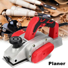 Powerful Electric Wood Planer Door Plane Hand Held Woodworking Surface 82x2mm