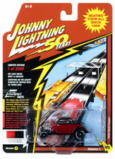 1934 Ford Coupe Hot Rod - Candy Apple Red *RR* Johnny Lightning Anniversary 1:64