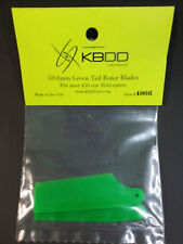 KBDD Tail Rotor Blades, 59.6mm, Green, for 450 size helicopters, 4008