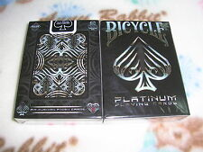1 deck of Bicycle Platinum Playing Cards by USPCC-S1021993302-A
