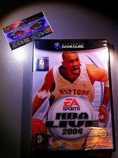 NBA LIVE 2004 NUOVO SIGILLATO NEW FACTORY SEALED NINTENDO GAMECUBE RARE GC WII