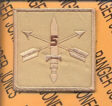 5th Special Forces Group  AIRBORNE Helmet Cover patch