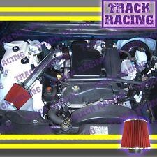 2002 2003 CHEVY TRAILBLAZER GMC ENVOY BRAVADA 4.2L AIR INTAKE KIT Black Red 1