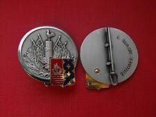 N°2 insigne militaire pucelle armée promotion infanterie génie parachutistes etc