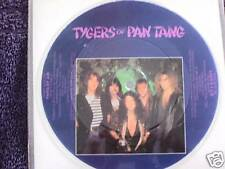 """TYGERS OF PAN TANG 7"""" picture disc PARIS BY AIR"""