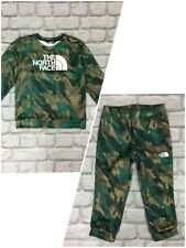THE NORTH FACE SURGENT CAMO TRACK TOP/PANTS SOLD SEPARATELY CHILDRENS INFANTS A