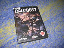 Call of Duty 1 FSK 18 EGO Shooter culte classique allemand PC