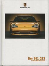 brochure 2005 PORSCHE 911 GT3 !!!  __________HARD COVER __________German Text_
