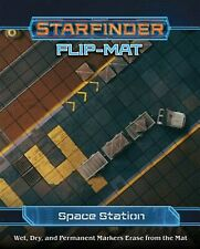 Starfinder Flip-Mat: Space Station by Paizo Publishing