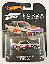 HOT WHEELS 1/64 RETRO FORZA '73 BMW 3.0 CSL RACE CAR 2/5